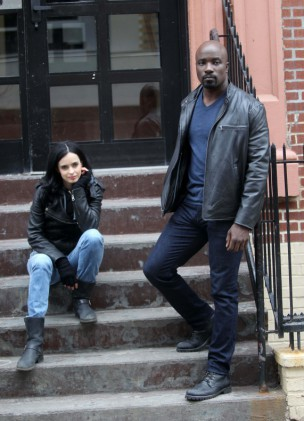 Krysten Ritter - Mike Colter - Jessica Jones