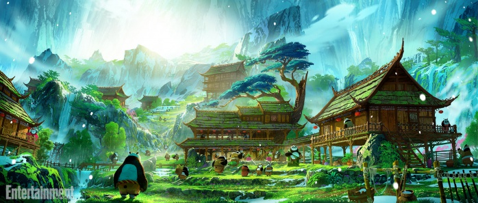 Kung Fu Panda 3 Concept 4