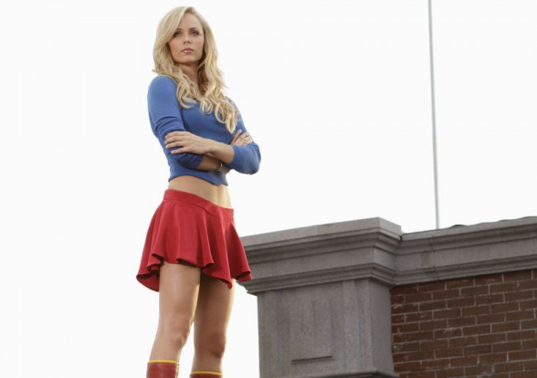 Laura Vandervoort Supergirl Smallville destacada