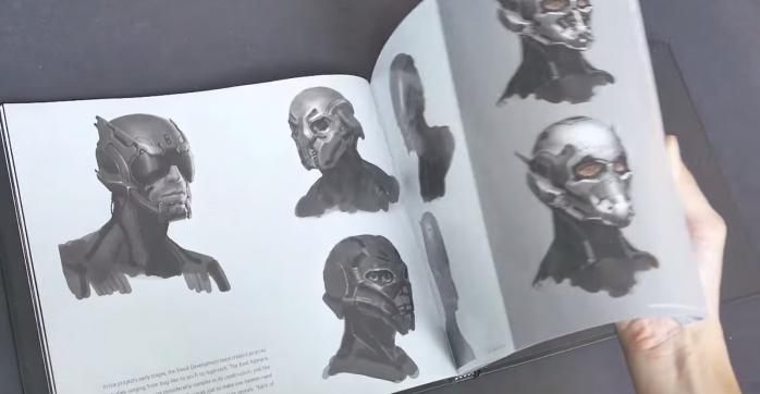 Libro de arte Arn Man 4