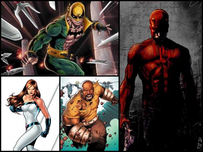 Marvel - Netflix series
