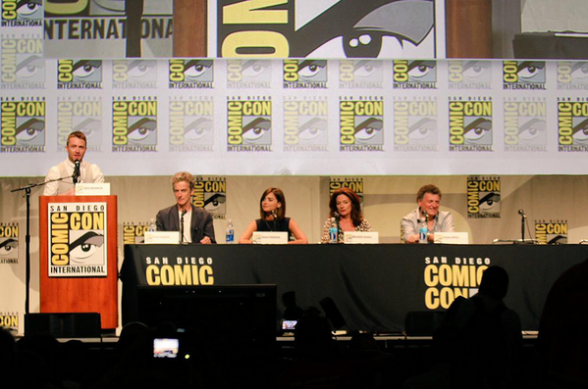 Panel Doctor Who SDCC