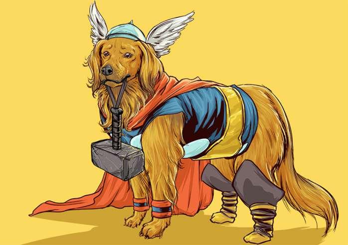 Perros Marvel 11