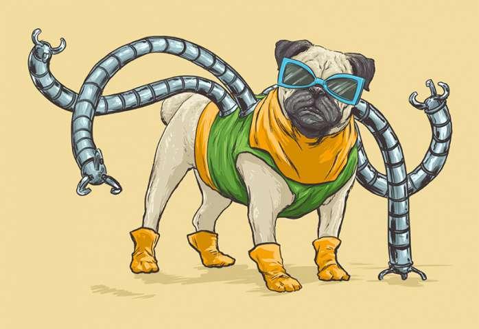 Perros Marvel 13
