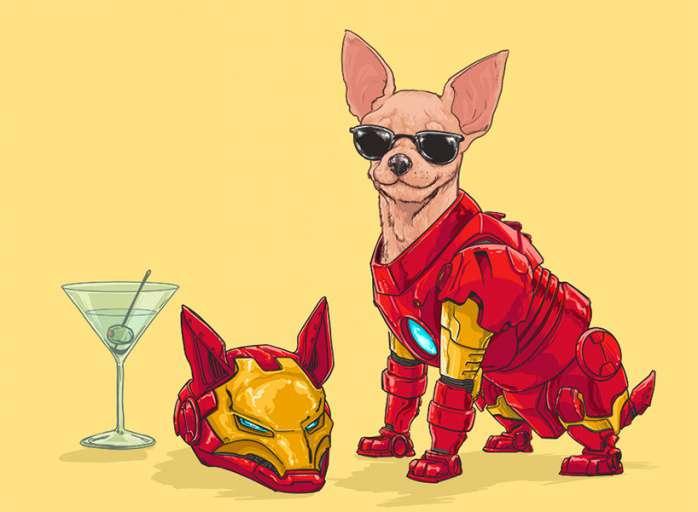 Perros Marvel 3