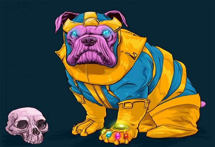 Perros Marvel 4