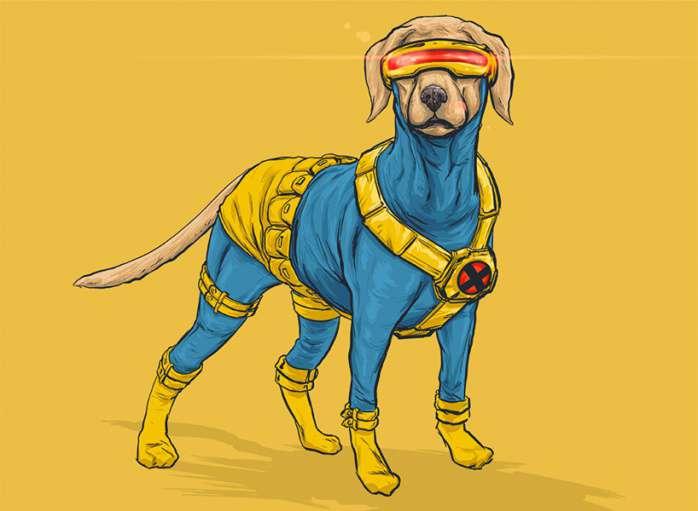 Perros Marvel 6
