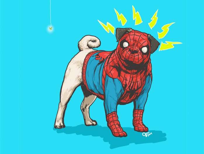 Perros Marvel 7