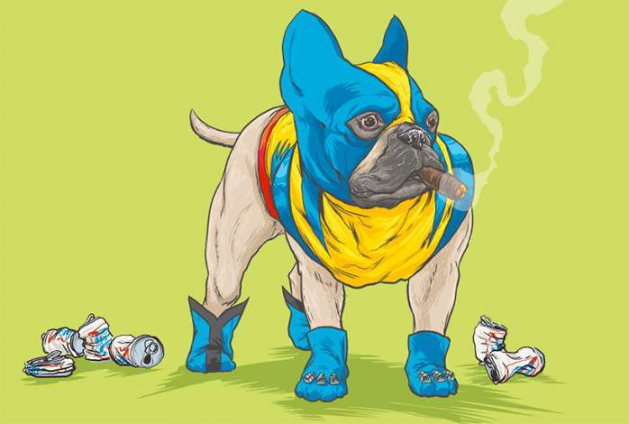 Perros Marvel 8