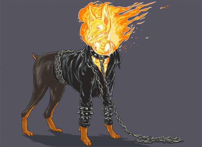 Perros Marvel 9
