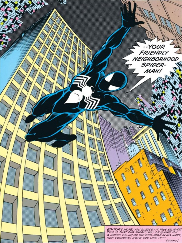 Spiderman-Black