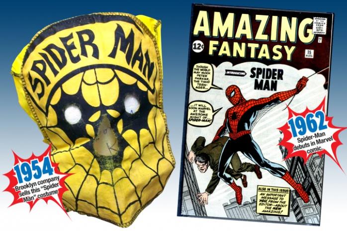 Spiderman traje años 50 principal