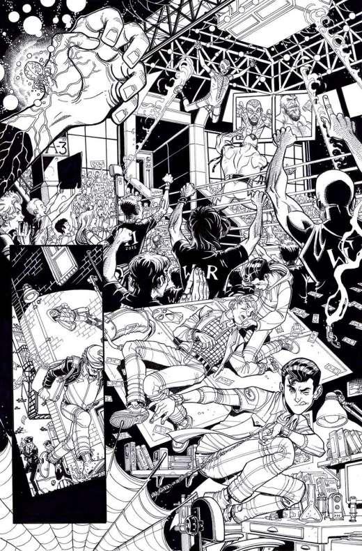 Spidey arte interior 2