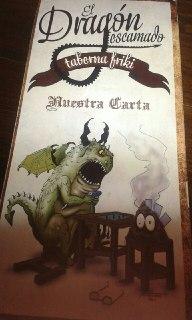 Star Wars Alicante - Carta El Dragon Escamado 01