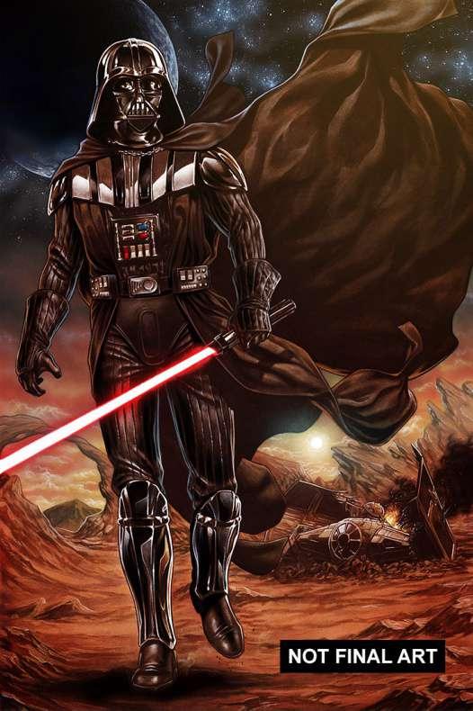 Star Wars Vader Down portada