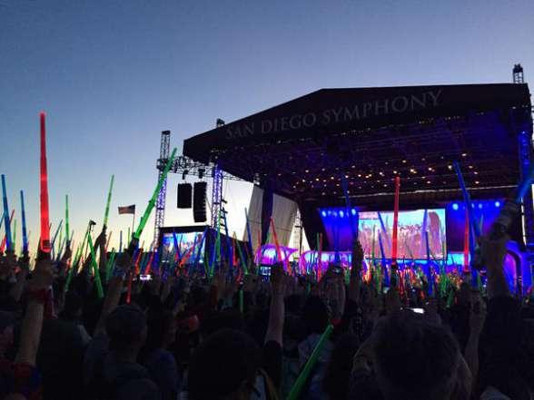 Star Wars concierto SDCC