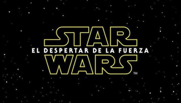 Star Wars el despertar de la fuerza Logo