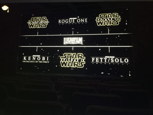 Star Wars leaked film slate