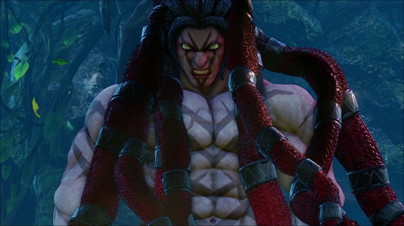 Street Fighter V Necali Intro