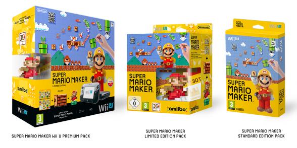 Super Mario Maker Ediciones