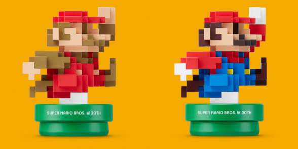 Super Mario Maker amiibos