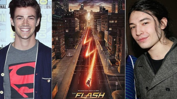 The Flash - Ezra Miller - Grant Gustin
