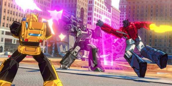 Transformers Devastation - Vs MEgatron