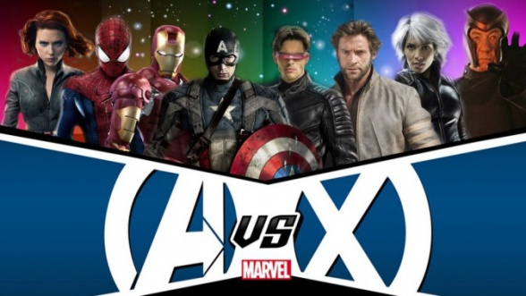 Marvel y Fox: Vengadores y X-Men