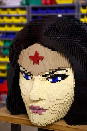 Wonder Woman de LEGO - SDCC
