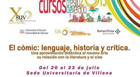 Universidad de Alicante - Curso cómic