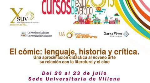 Universidad de Alicante - Curso cómic