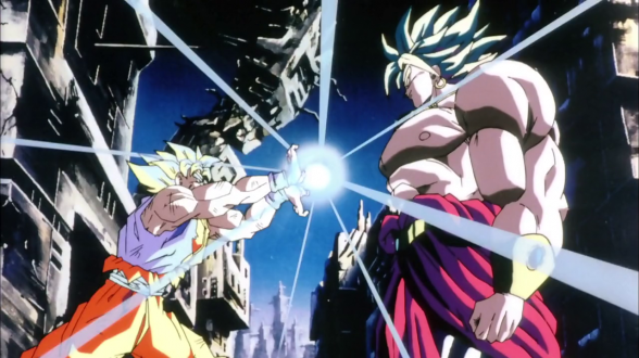 dragon ball z goku broly