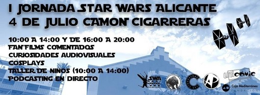 julio 4 - star wars alicante