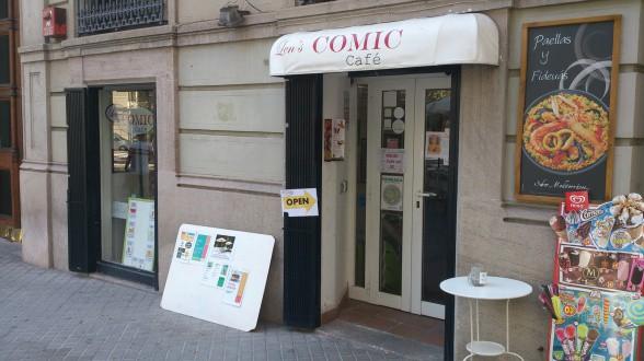 len's comic cafe barcelona 10