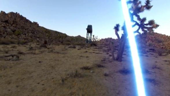 Jedi con GoPro