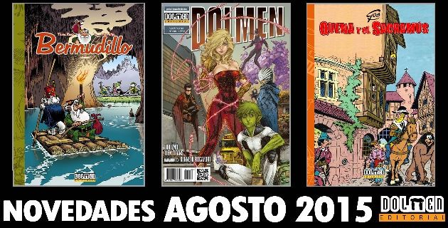 Dolmen Editorial Agosto 2015