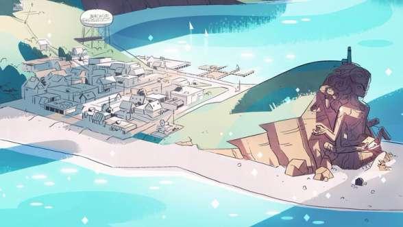 steven universe cartoon network rebecca sugar beach city