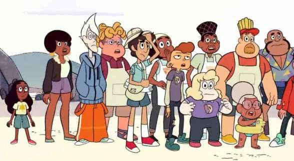 Parte del enorme elenco de secudarios de la serie