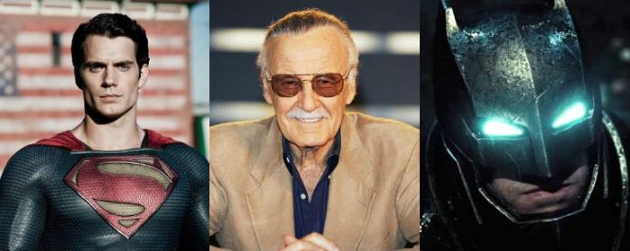 Stan Lee, Batman y Superman
