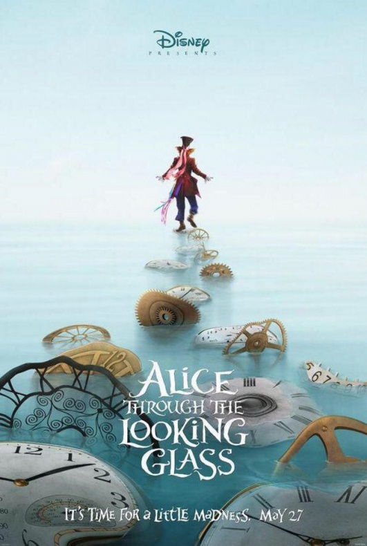 Alice Through The Looking Glass Poster 2
