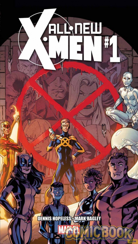 All new X-Men nº1 portada