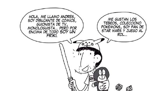 Andrés Palomino - Soy Friki y tengo Novia