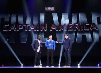 Anthony Mackie y Chris Evans presentan 'Civil War' en la D23