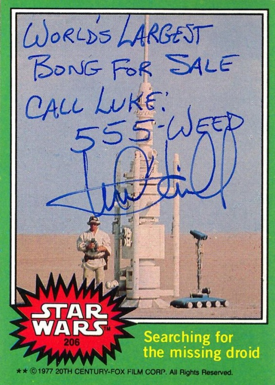 Autografos Mark Hamill 07