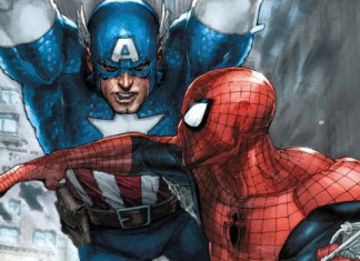 Avenging Spiderman - 5 - Captain America - Cover