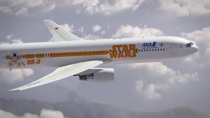 Avion Star Wars 8