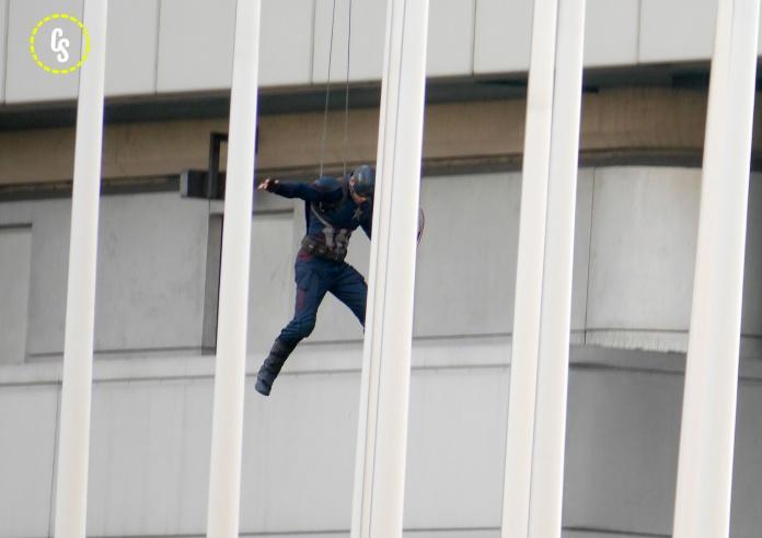 Capitán América Civil War rodaje Berlín 04