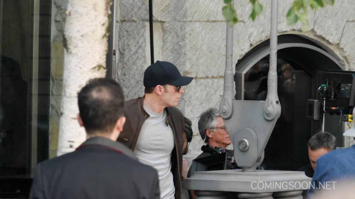 Capitán América Civil War rodaje Berlín 28