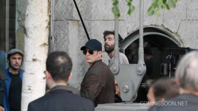 Capitán América Civil War rodaje Berlín 29