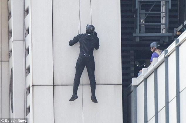 Capitán América Civil War rodaje Berlín 34